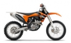 THE KTM OFFROAD MODEL YEAR 2011